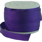 Ruban Soie 7mm Violet (bobine 10m)