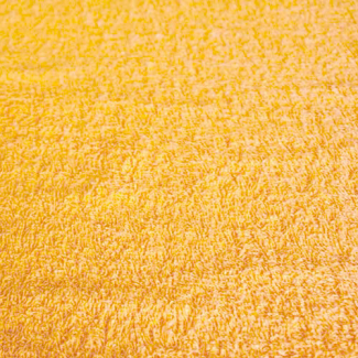 Cotton Terry Oekotex Width 160cm Gold Yellow (per meter)