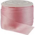 Silk Ribbon 13mm Pink (5m spool)