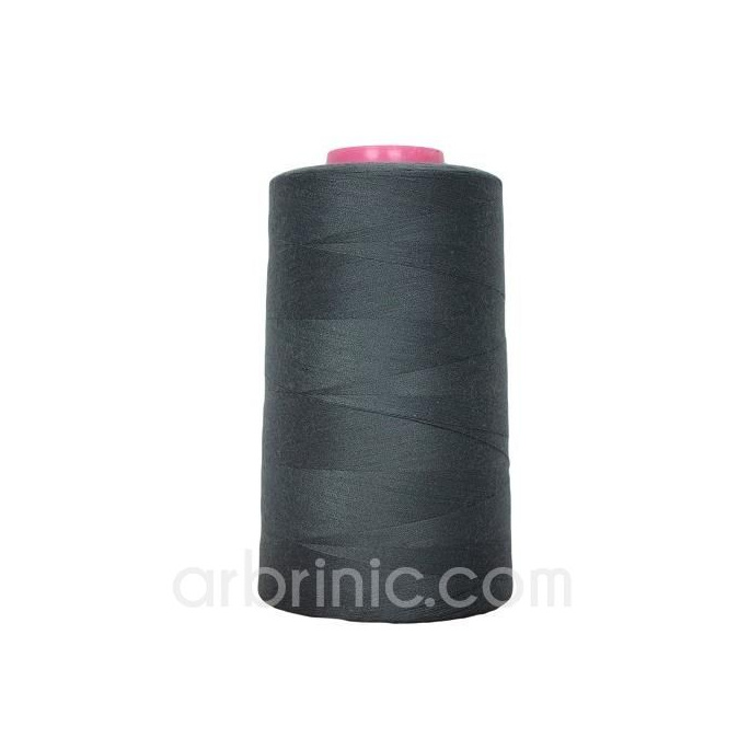 Polyester Serger and sewing Thread Cone (4573m) Slate Grey