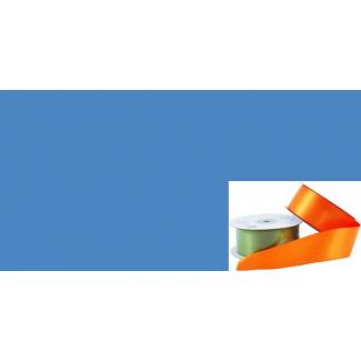 Ruban Satin 38mm Bleu Moyen (rouleau 20m)