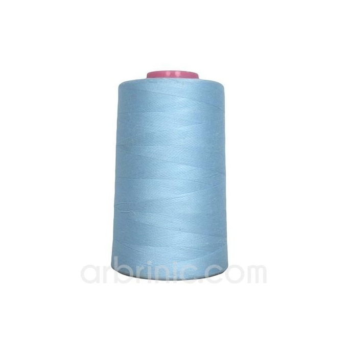 Polyester Serger and sewing Thread Cone (4573m) Light Blue