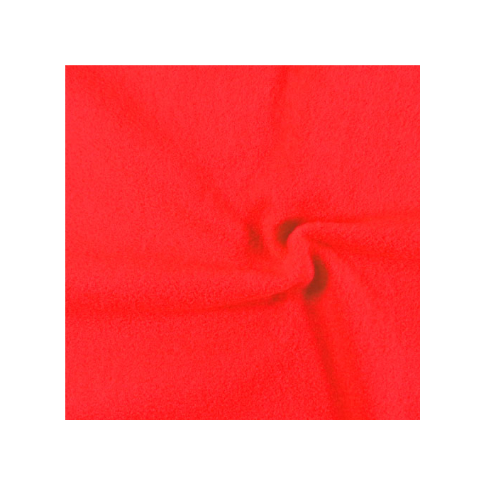 Micro Polaire Oekotex Rouge