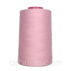 Polyester Serger and sewing Thread Cone (4573m) Light Pink