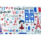 Cotton woven Paris Timeless Treasures per 10cm