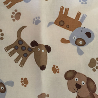 PUL cotton Big Dogs (50x55cm)