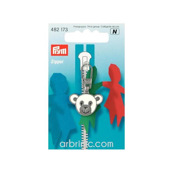 Zip puller Bear PRYM