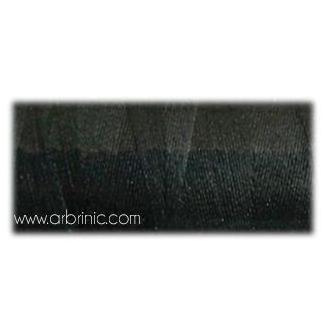 Fil polyester QA 500m Couleur 105 Noir