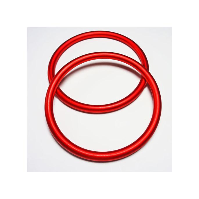 Anneaux de portage Rouge Taille L (1 paire)