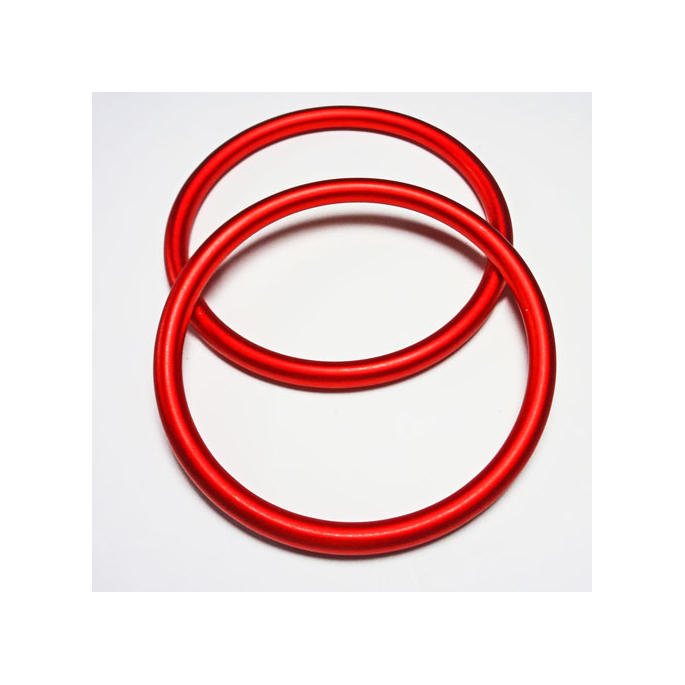 Sling Rings Red Size L (1 pair)