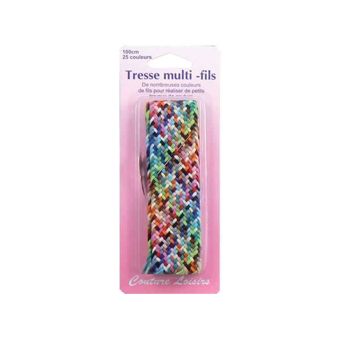 Mending kit with thread and needle