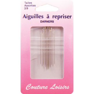 Darners Needles Size 3-9 (x10)