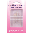 Embroidery Crewel Needles Size 7 (x20)