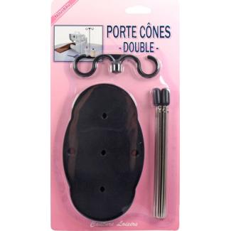 Porte Cônes double