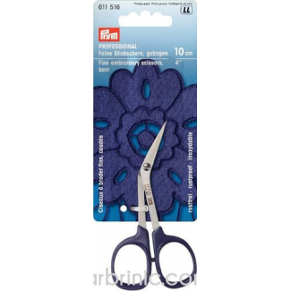Fine Bent Embroidery scissors 10cm KAI Professional