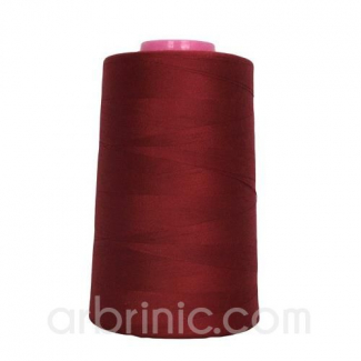 Polyester Serger and sewing Thread Cone (4573m) Bordeau