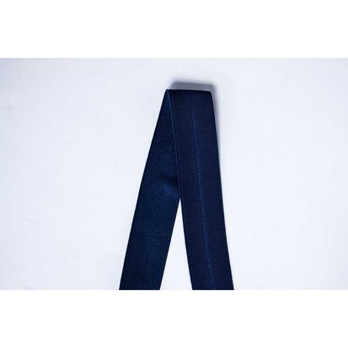 Biais élastique 2.5cm Navy Blue (1m)