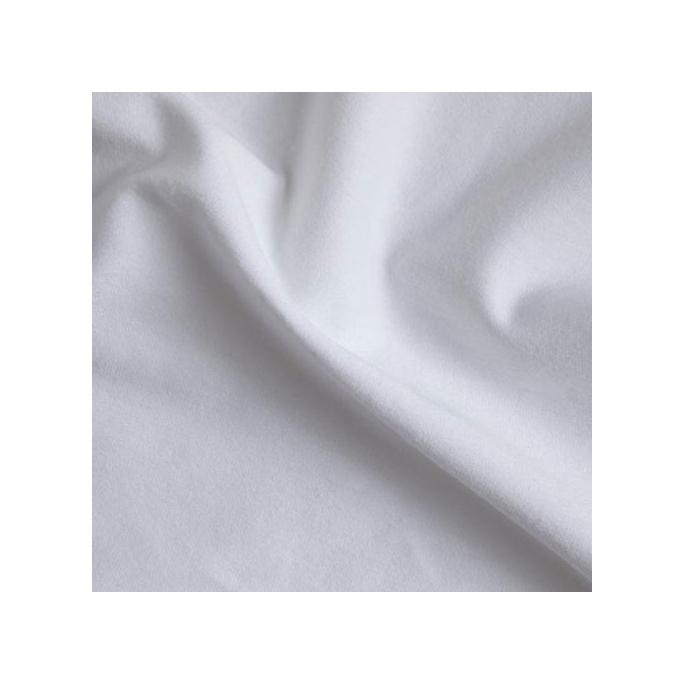 Molleton de coton imperméable Oekotex largeur 250cm (au mètre)