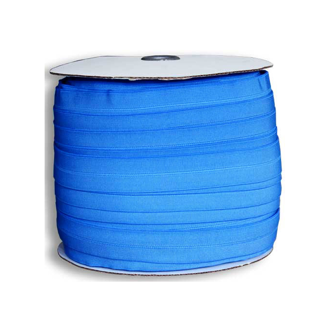 Biais élastique 2.5cm French Blue (1m)