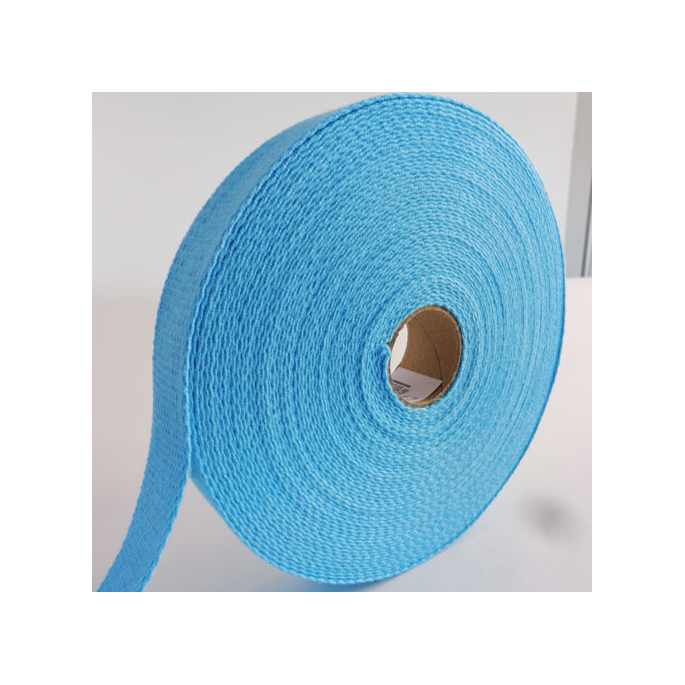 Cotton Webbing 23mm Lagon (15m roll)