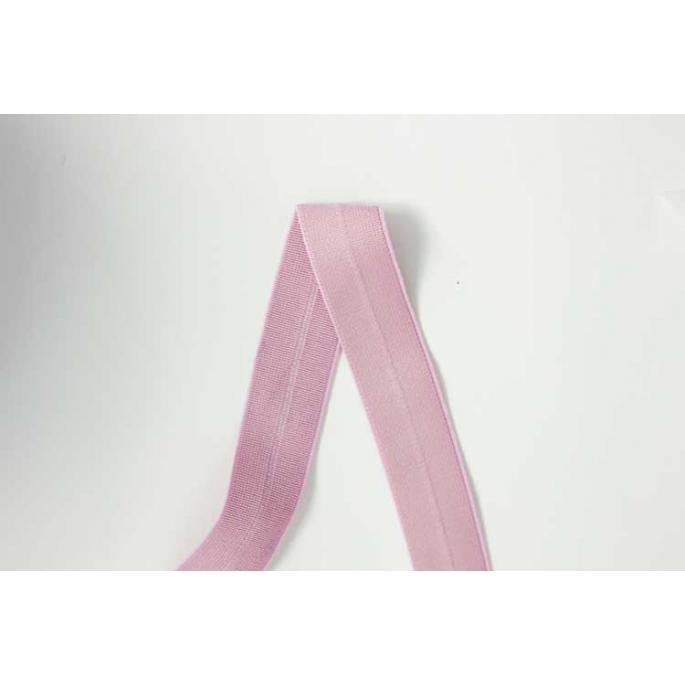 Biais élastique 2.5cm Old pink (1m)