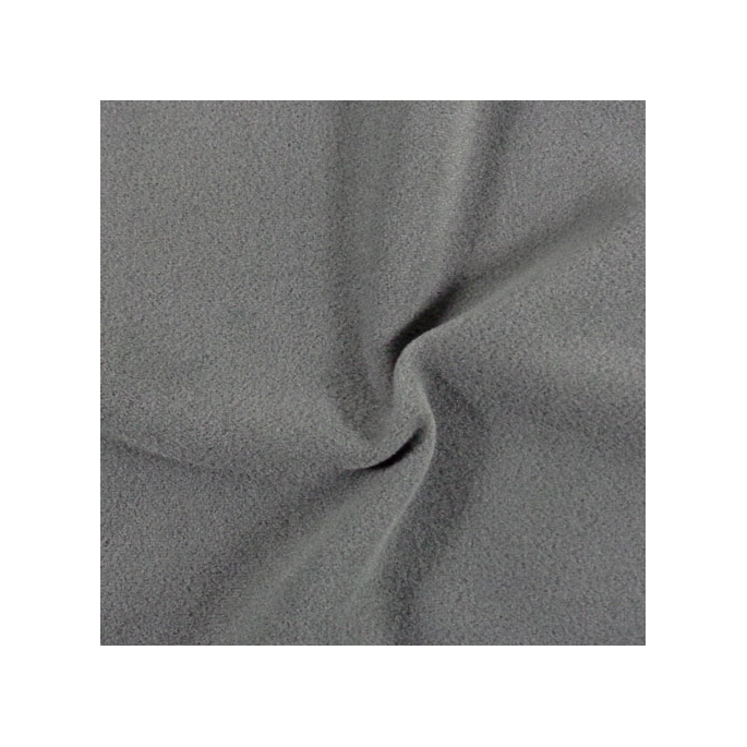 Microfleece Oekotex Dark Grey