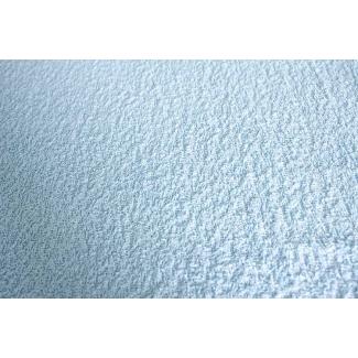 Eponge de bain coton bio bleue