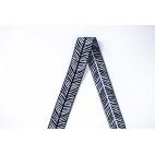 Biais élastique 2.5cm Print Zebra (1m)