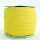 Biais élastique 2.5cm Citron yellow (1m)