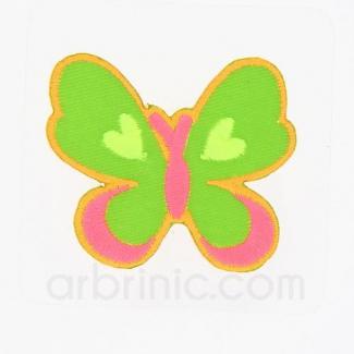 Ecusson broderie Papillon
