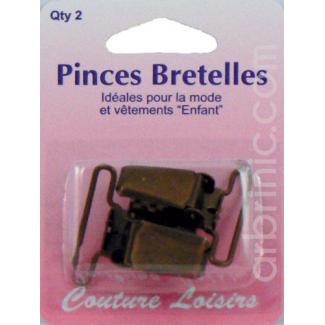 Brace clips bronze (x2)