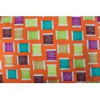 Cotton Print Cool Spools Orange Michael Miller per 10cm