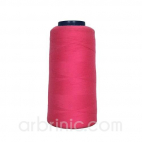 Polyester Serger and sewing Thread Cone (2743m) Raspberry Pink
