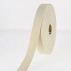 Cotton Webbing 23mm Ecru (by meter)