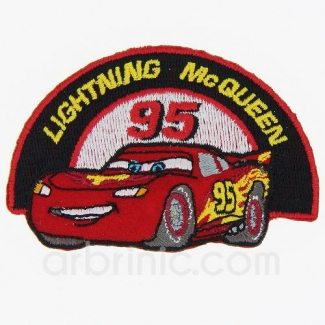 Ecusson broderie Cars MQueen