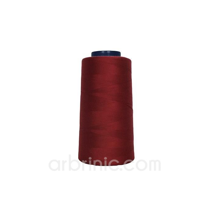 Polyester Serger and sewing Thread Cone (2743m) Bordeau