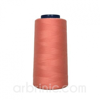 Polyester Serger and sewing Thread Cone (2743m) Coral