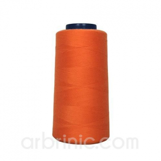 Cône fil polyester Orange (2743m)