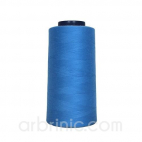 Polyester Serger and sewing Thread Cone (2743m) French Blue