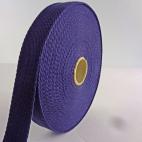 Cotton Webbing 23mm Dark Blue (15m roll)