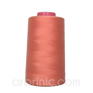 Polyester Serger and sewing Thread Cone (4573m) Coral