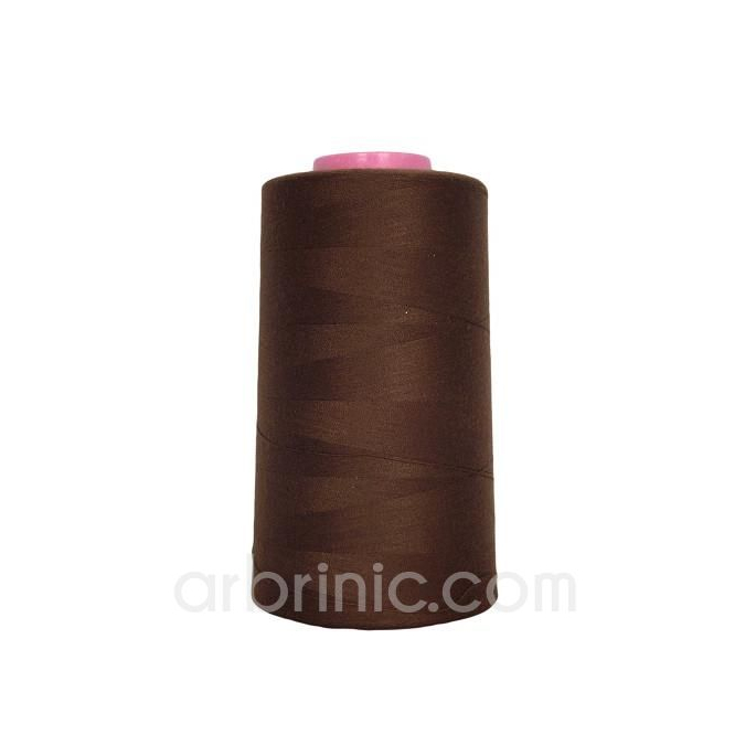 Polyester Serger and sewing Thread Cone (4573m) Brown