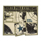 Iron-on Embroidery Patch North Pole