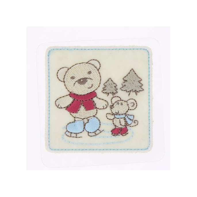 Iron-on Embroidery Patch Bear