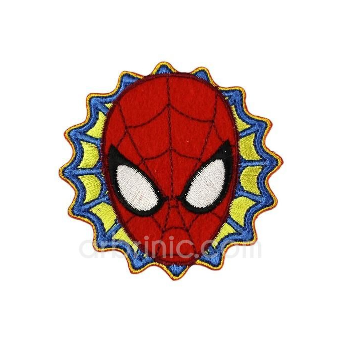 Iron-on Embroidery Patch Spiderman 04