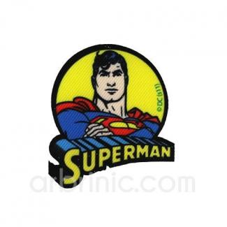 Ecusson imprimé Superman 06