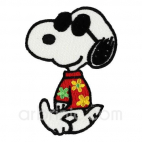 Iron-on Embroidery Patch Snoopy 01