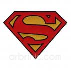 Grand Ecusson broderie Superman
