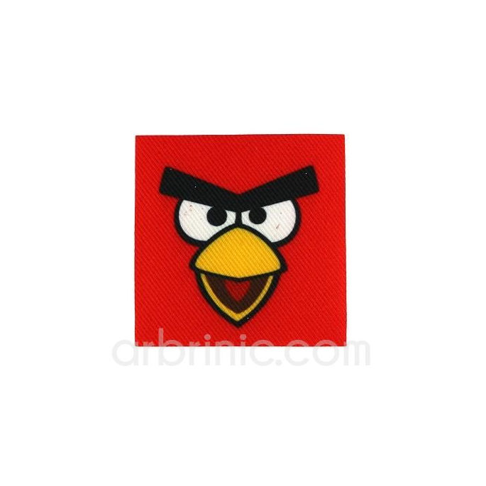 Ecusson imprimé Angry birds 07