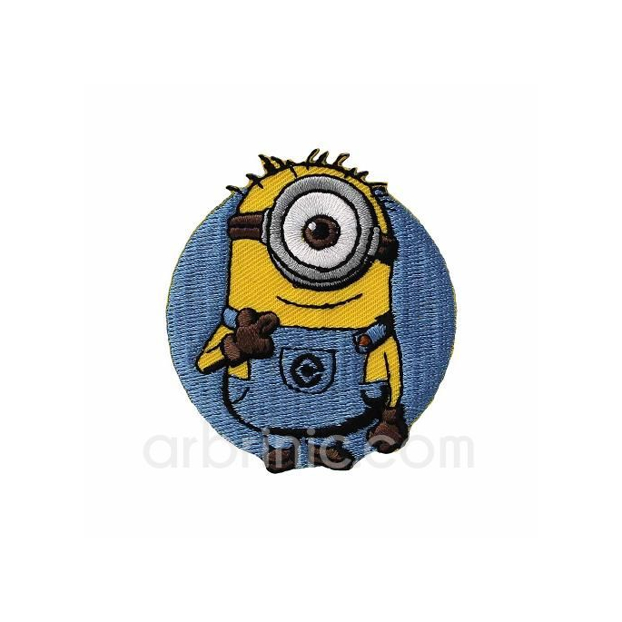 Iron-on Embroidery Patch Minion 01